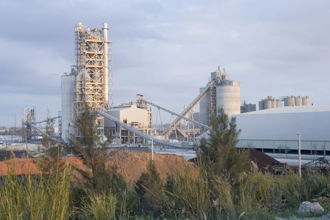 Pennsuco cement plant Florida USA